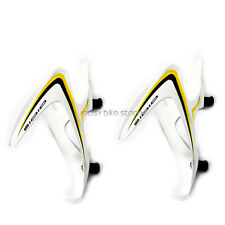 2PCS WHITE * YELLOW + BLACK  IDIO UD Carbon Water Bottle Cage MTB ROAD /USPS