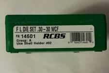 RCBS FL 2 die set for 30-30 Winchester, WCF, #14601, NIB