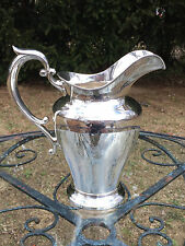 Large Sterling Silver Water Pitcher by Dominick & Haff NEW YORK 751 Grams NO RES