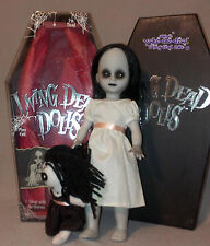 living dead doll series 8 * THE LOST VARIANT * white dress black doll