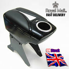 Universal Armrest Centre Console Black Faux Leather For Landrover Defender