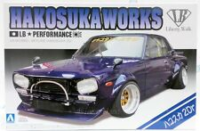 Aoshima1/24 Hakosuka Works LB Performance Skyline 2Dr model kit