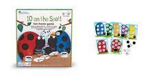 Learning Resources 10 on the spot educational board game for counting to 10 NEW