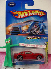2005 #6 FE Hot Wheels '05 FORD MUSTANG GT #006✿RED; black M; pr5✿First Editions