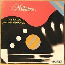 """DANIEL RALLO & JEAN CHARLES GUIRAUD """"MILLESIME"""" - CD"""
