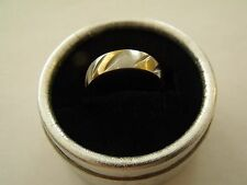 BAGUE RING ANELLO 2 OR GOLD FILLED RING T58 /New