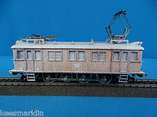 Marklin SJ 3171 Electric Locomotive Typ D 109 Wood Filligrain hood SNOWY VERSION