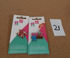 2 x Official London 2012 Olympic games pin badges including LTD Editions set 23