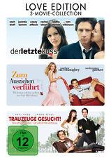 3 DVDs * LOVE EDITION | DER LETZTE KUSS|ZUM AUSZIEHEN VERFÜHRT|TRAUZEUGE GES #