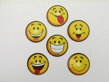 72 SMILEY FACE MAGNETS smile face bulk wholesale FREE SHIP party favor supplies