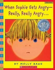 When Sophie Gets Angry~Really, Really Angry... (Brand New Paperback) Molly Bang