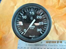 """3000 RPM Tachometer 12 Volt 3"""" Electronic Onan & Other Applications [BB14]"""