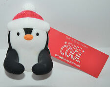 BATH & BODY WORKS PENGUIN SHOWER SPONGE RAZOR HOOK LOOFAH HOLDER HANGER SUCTION