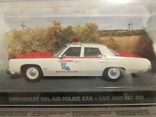 JAMES BOND CARS COLLECTION 131 Chevrolet Bel Air Police Car Live and Let Die