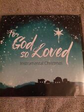 For God So Loved: Instrumental Christmas CD By Patricia Spedden 2015 NEW, SEALED