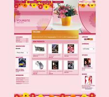 PREMIUM ECOMMERCE FLOWERS SHOP STORE SHOPPING CART WEBSITE