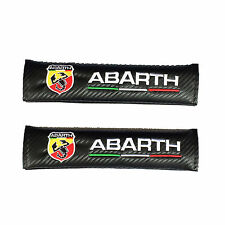 For ABARTH A Pair Car Seat Belt Shoulder Cover Pads