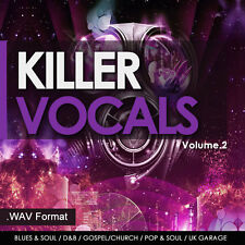 Vocal Samples - Dubstep,Chillout,R&B,Dance & Vocal Sessions - Samples & Loops V2