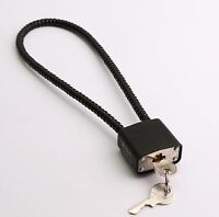WIRE CABLE TRIGGER MECHANISM LOCK padlock cord GUN chain security