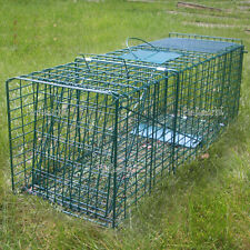 Extra Large Trap Humane Possum Cage Live Animal Catch Cat Rabbit Bird Bait Rat