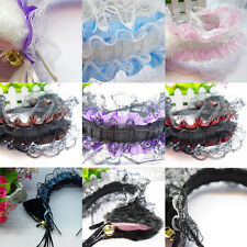 Women Cute Cat Ear Lace Alice Band Headband Hair Accessories Cosplay Party OE