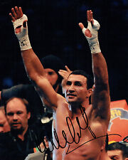 Wladimir KLITSCHKO Champion Boxer Signed Photo A AFTAL COA Boxing Dr Steelhammer