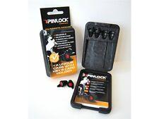 Pinlock Earplugs / Motorrad Ohrstöpsel Gehörschutz-Set