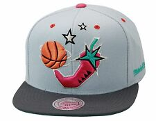 Mitchell & Ness NBA All Star Game Snapback GREY/PINK PEPPER Lebron South Beach 9