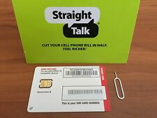 Straight Talk Verizon 4G LTE Nano SIM for Verizon iPhone 7+, 7, 6+ 6 5s 5c 5