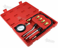 New Engine Petrol Compression Tester Car Motorcycle Automotive Garage Tool Kit