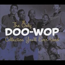The Only Doo-Wop Collection You'll Ever Need [Box] by Various Artists (CD,...