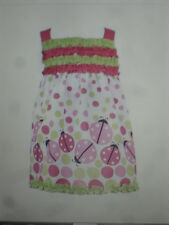 NWT Rare Editions Too Baby Girls Ladybugs & Polka Dots Boutique Dress 3T Pretty