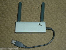 MICROSOFT XBOX 360 WIRELESS N NETWORKING ADAPTER Network Gaming USB WiFi White