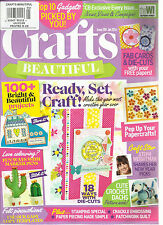 CRAFTS BEAUTIFUL    JANUARY, 2016    ISSUE,288  ( READY, SET, CRAFT ! )