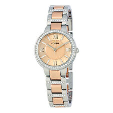Fossil Virginia Teo-tone Ladies Watch ES3405
