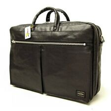 New PORTER FREE STYLE 2WAY BRIEF CASE 707-08208 BLACK From JP