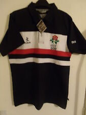 "Official KUKRI LCCC GOD 1954 Men's Black/White/Red Cricket Shirt Small C38""BNWT*"