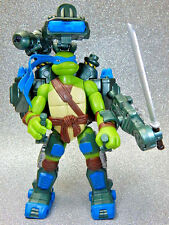 Ninja Turtles Figure - 2007 Auto Attack Leonardo - Playmates TMNT CG Movie
