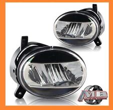 2009 2010 2011 2012 Audi A4 Replacement Clear LED Fog Lamp Light Kit CREE LED