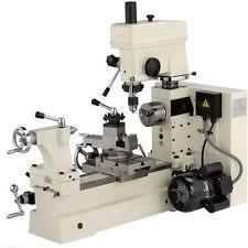 Shop Fox M1018 Small Combo Lathe/Mill w/ Builtin Rotating Vise & 4-Way Tool Post