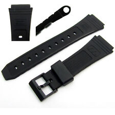 Watch strap 19mm to fit Casio Data Bank DB30, DB31, DB55, DBW101, DBA80, AB11