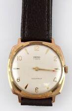 Vintage 1960S SMITHS 7 Jewel Shockproof British CUSHION CASE Men's Wrist Watch