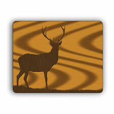 Deer Silhouette Hunting Buck Mouse Pad Mat PC Desktop