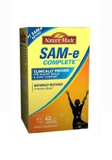 Nature Made SAM-e Complete 400 mg Dietary Supplement 42 Tablets