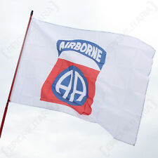 US 82ND AIRBORNE FLAG - American Army Military Reenactment All-American 5x3 Foot