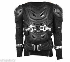 LEATT ADVENTURE 5.5 BODY PROTECTOR ARMOUR BRACE BLACK LARGE / XLARGE L/XL