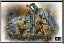 BRITISH & GERMAN INFANTRYMEN HAND TO HAND FIGHT WWI ERA 1/35 MASTER BOX 35116 DE