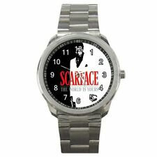 Scarface The World Is Yours Movie #J01 Sport Metal Watch