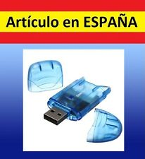 LECTOR TARJETAS DE MEMORIA SD a USB TF card T-Flash mini adaptador M2  MMCSDHC A