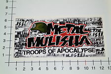 METAL MULISHA TROOPS OF APOCALYPSE Aufkleber Sticker Motorcross Bike Skate Mi328